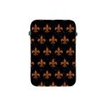 ROYAL1 BLACK MARBLE & RUSTED METAL Apple iPad Mini Protective Soft Cases