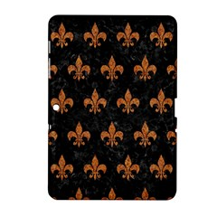 ROYAL1 BLACK MARBLE & RUSTED METAL Samsung Galaxy Tab 2 (10.1 ) P5100 Hardshell Case