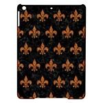 ROYAL1 BLACK MARBLE & RUSTED METAL iPad Air Hardshell Cases