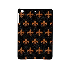 ROYAL1 BLACK MARBLE & RUSTED METAL iPad Mini 2 Hardshell Cases