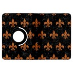 ROYAL1 BLACK MARBLE & RUSTED METAL Kindle Fire HDX Flip 360 Case