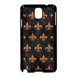 ROYAL1 BLACK MARBLE & RUSTED METAL Samsung Galaxy Note 3 Neo Hardshell Case (Black)
