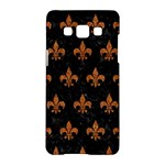 ROYAL1 BLACK MARBLE & RUSTED METAL Samsung Galaxy A5 Hardshell Case