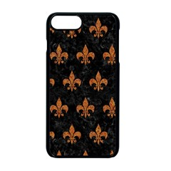 ROYAL1 BLACK MARBLE & RUSTED METAL Apple iPhone 7 Plus Seamless Case (Black)
