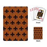 ROYAL1 BLACK MARBLE & RUSTED METAL (R) Playing Card Back