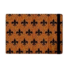 Royal1 Black Marble & Rusted Metal (r) Apple Ipad Mini Flip Case