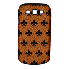 Royal1 Black Marble & Rusted Metal (r) Samsung Galaxy S Iii Classic Hardshell Case (pc+silicone)