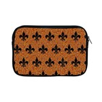 ROYAL1 BLACK MARBLE & RUSTED METAL (R) Apple iPad Mini Zipper Cases Front