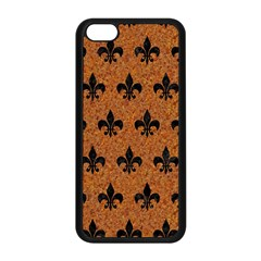Royal1 Black Marble & Rusted Metal (r) Apple Iphone 5c Seamless Case (black) by trendistuff