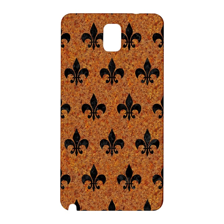 ROYAL1 BLACK MARBLE & RUSTED METAL (R) Samsung Galaxy Note 3 N9005 Hardshell Back Case