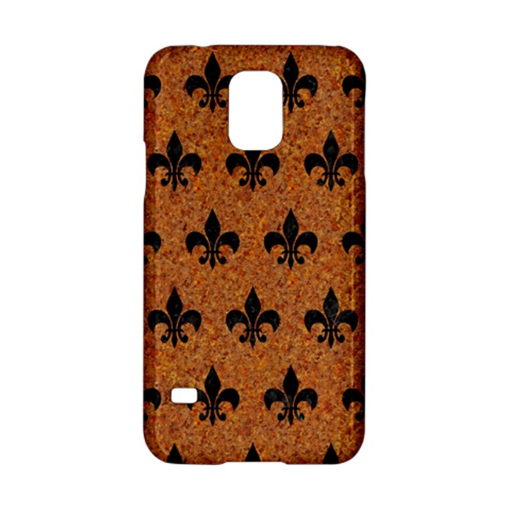 ROYAL1 BLACK MARBLE & RUSTED METAL (R) Samsung Galaxy S5 Hardshell Case