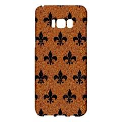 Royal1 Black Marble & Rusted Metal (r) Samsung Galaxy S8 Plus Hardshell Case  by trendistuff
