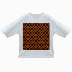 Scales1 Black Marble & Rusted Metal Infant/toddler T Shirts