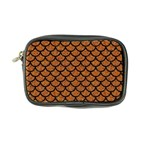 SCALES1 BLACK MARBLE & RUSTED METAL Coin Purse Front