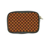 SCALES1 BLACK MARBLE & RUSTED METAL Coin Purse Back