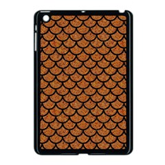 Scales1 Black Marble & Rusted Metal Apple Ipad Mini Case (black) by trendistuff