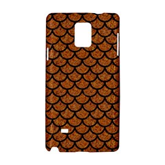 Scales1 Black Marble & Rusted Metal Samsung Galaxy Note 4 Hardshell Case