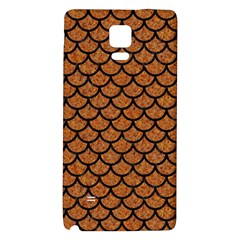 Scales1 Black Marble & Rusted Metal Galaxy Note 4 Back Case