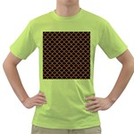 SCALES1 BLACK MARBLE & RUSTED METAL (R) Green T-Shirt