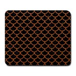 SCALES1 BLACK MARBLE & RUSTED METAL (R) Large Mousepads