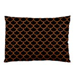 SCALES1 BLACK MARBLE & RUSTED METAL (R) Pillow Case 26.62 x18.9 Pillow Case