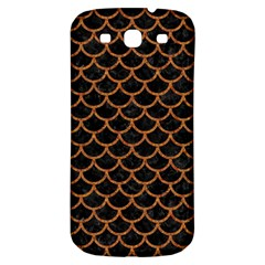 Scales1 Black Marble & Rusted Metal (r) Samsung Galaxy S3 S Iii Classic Hardshell Back Case