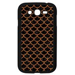SCALES1 BLACK MARBLE & RUSTED METAL (R) Samsung Galaxy Grand DUOS I9082 Case (Black) Front
