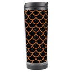SCALES1 BLACK MARBLE & RUSTED METAL (R) Travel Tumbler Center
