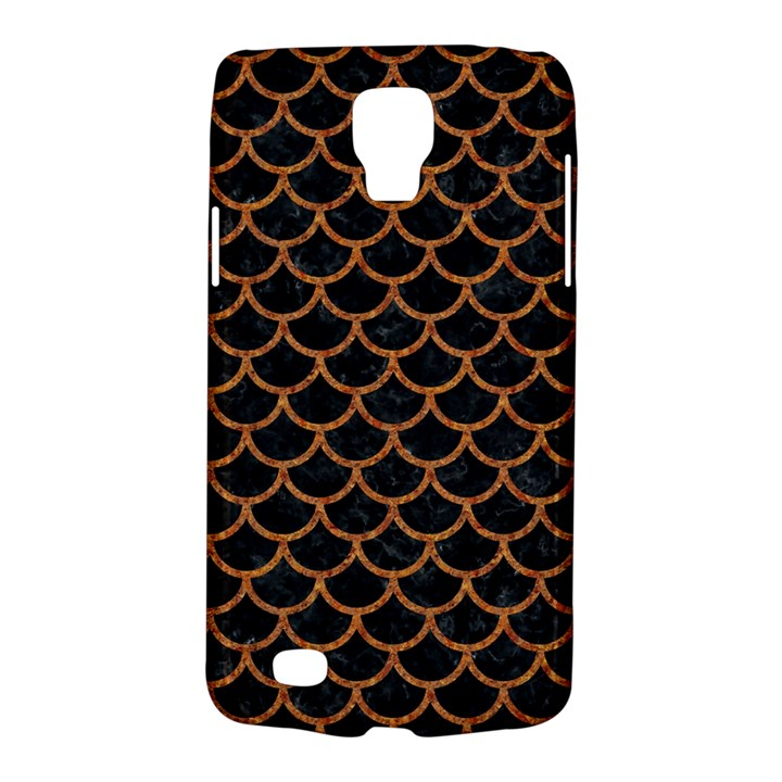 SCALES1 BLACK MARBLE & RUSTED METAL (R) Galaxy S4 Active