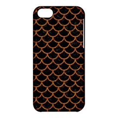 SCALES1 BLACK MARBLE & RUSTED METAL (R) Apple iPhone 5C Hardshell Case
