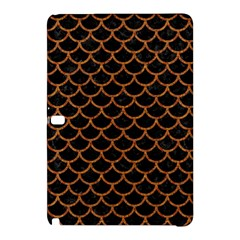 Scales1 Black Marble & Rusted Metal (r) Samsung Galaxy Tab Pro 12 2 Hardshell Case