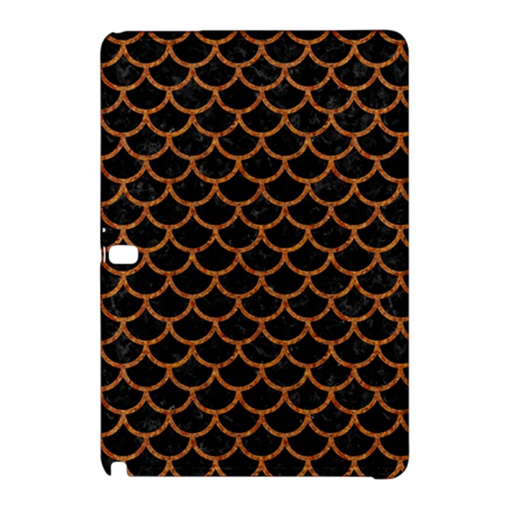 SCALES1 BLACK MARBLE & RUSTED METAL (R) Samsung Galaxy Tab Pro 12.2 Hardshell Case