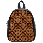 SCALES2 BLACK MARBLE & RUSTED METAL School Bag (Small)