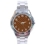SCALES2 BLACK MARBLE & RUSTED METAL Stainless Steel Analogue Watch