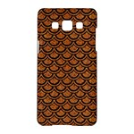 SCALES2 BLACK MARBLE & RUSTED METAL Samsung Galaxy A5 Hardshell Case