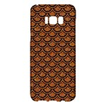SCALES2 BLACK MARBLE & RUSTED METAL Samsung Galaxy S8 Plus Hardshell Case