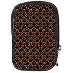 SCALES2 BLACK MARBLE & RUSTED METAL (R) Compact Camera Cases Front