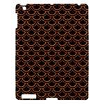 SCALES2 BLACK MARBLE & RUSTED METAL (R) Apple iPad 3/4 Hardshell Case