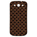 SCALES2 BLACK MARBLE & RUSTED METAL (R) Samsung Galaxy S3 S III Classic Hardshell Back Case Front