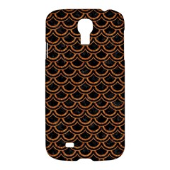 Scales2 Black Marble & Rusted Metal (r) Samsung Galaxy S4 I9500/i9505 Hardshell Case