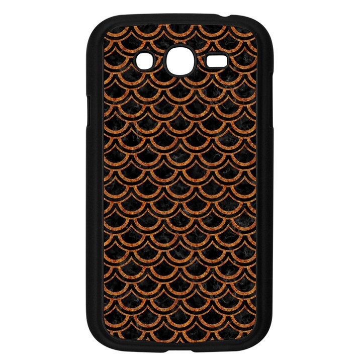 SCALES2 BLACK MARBLE & RUSTED METAL (R) Samsung Galaxy Grand DUOS I9082 Case (Black)