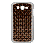 SCALES2 BLACK MARBLE & RUSTED METAL (R) Samsung Galaxy Grand DUOS I9082 Case (White) Front