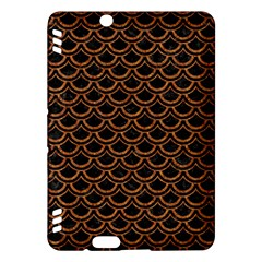 Scales2 Black Marble & Rusted Metal (r) Kindle Fire Hdx Hardshell Case by trendistuff