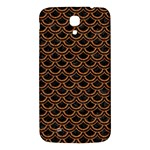SCALES2 BLACK MARBLE & RUSTED METAL (R) Samsung Galaxy Mega I9200 Hardshell Back Case Front