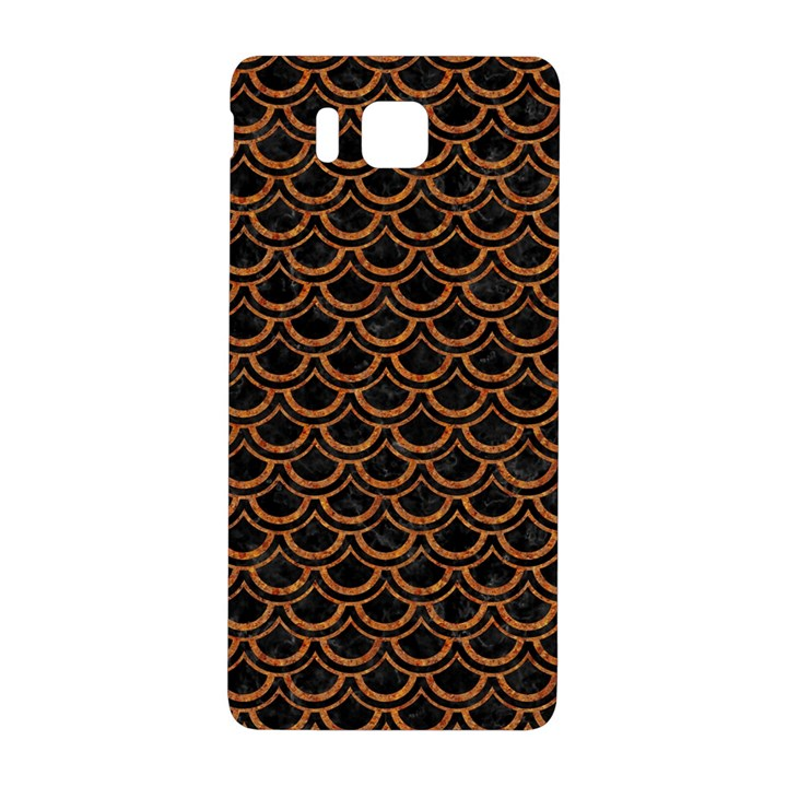 SCALES2 BLACK MARBLE & RUSTED METAL (R) Samsung Galaxy Alpha Hardshell Back Case