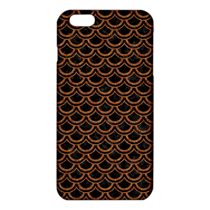 SCALES2 BLACK MARBLE & RUSTED METAL (R) iPhone 6 Plus/6S Plus TPU Case