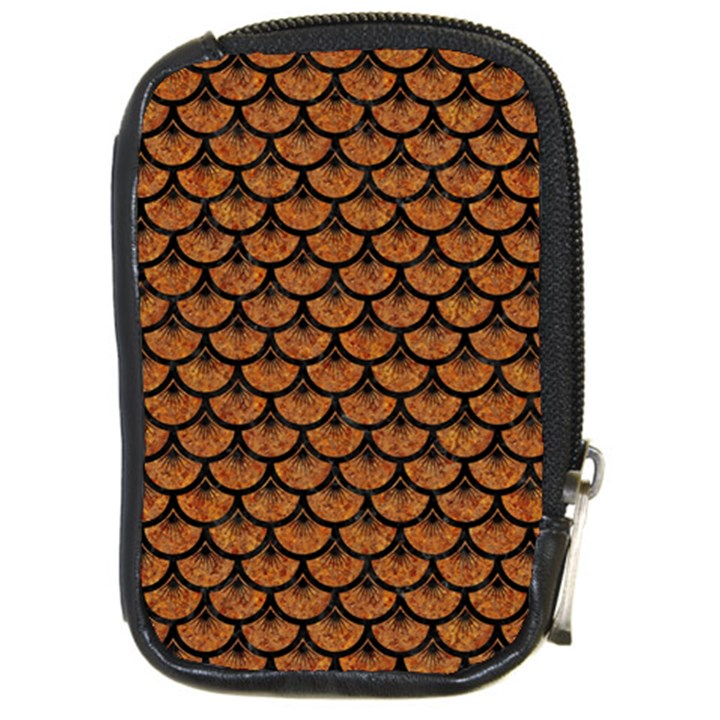 SCALES3 BLACK MARBLE & RUSTED METAL Compact Camera Cases