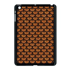 Scales3 Black Marble & Rusted Metal Apple Ipad Mini Case (black) by trendistuff