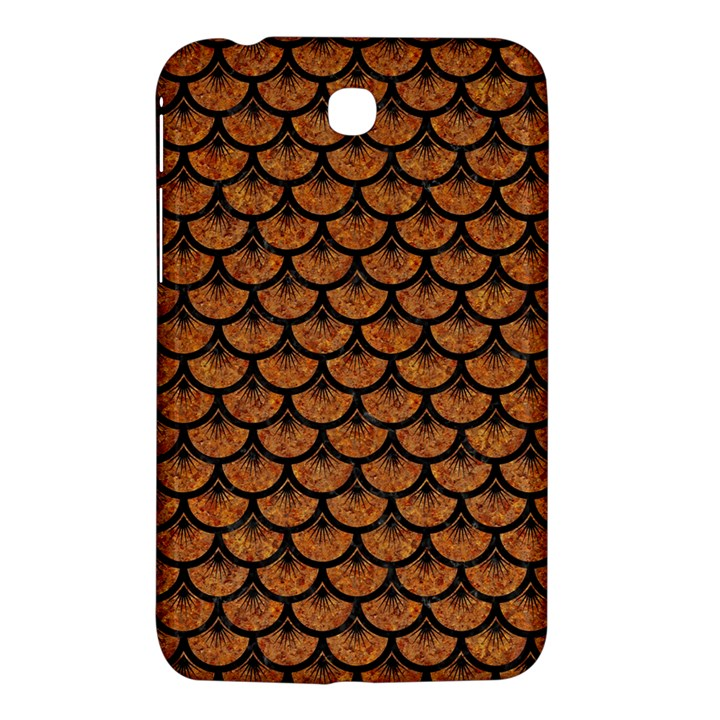 SCALES3 BLACK MARBLE & RUSTED METAL Samsung Galaxy Tab 3 (7 ) P3200 Hardshell Case