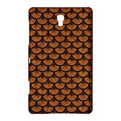 Scales3 Black Marble & Rusted Metal Samsung Galaxy Tab S (8 4 ) Hardshell Case